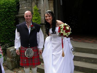 Lisa & George's Isle of Man Wedding 31st July 2010