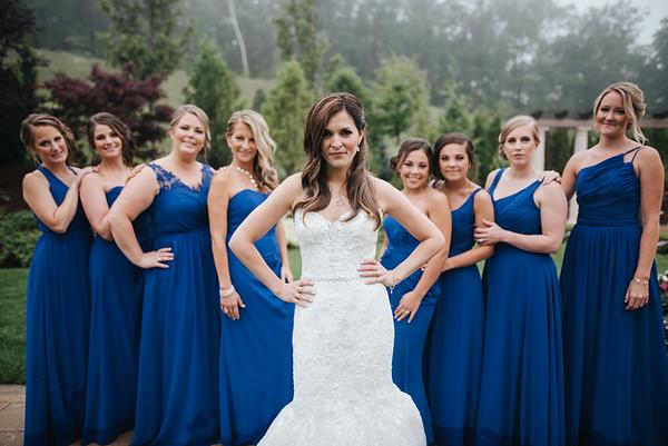6. Bridal party portraits