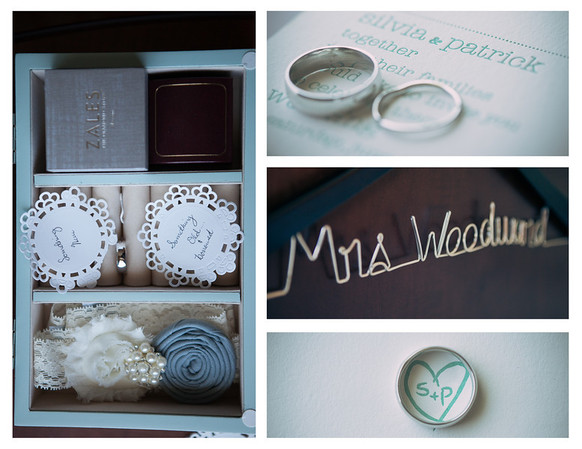 Silvia and Patrick's Wedding Collages