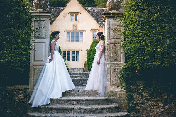 Danielle & Sonia - Owlpen Manor Wedding Photography