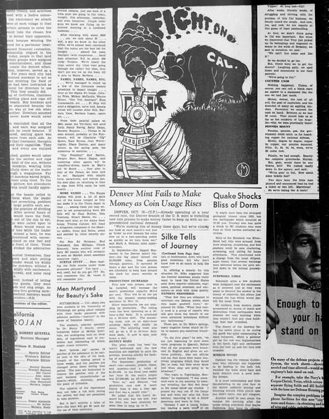 Daily Trojan, Vol. 33, No. 28, October 18, 1941