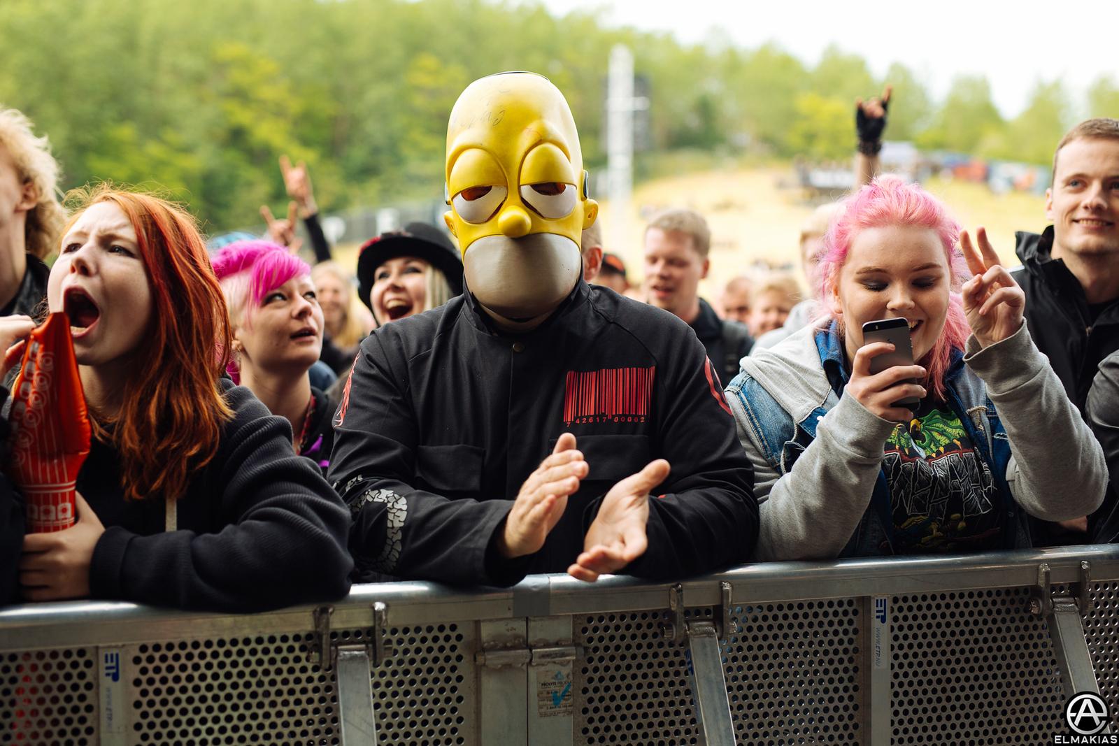 Newest member of Slipknot at Copenhell in Copenhagen, Denmark