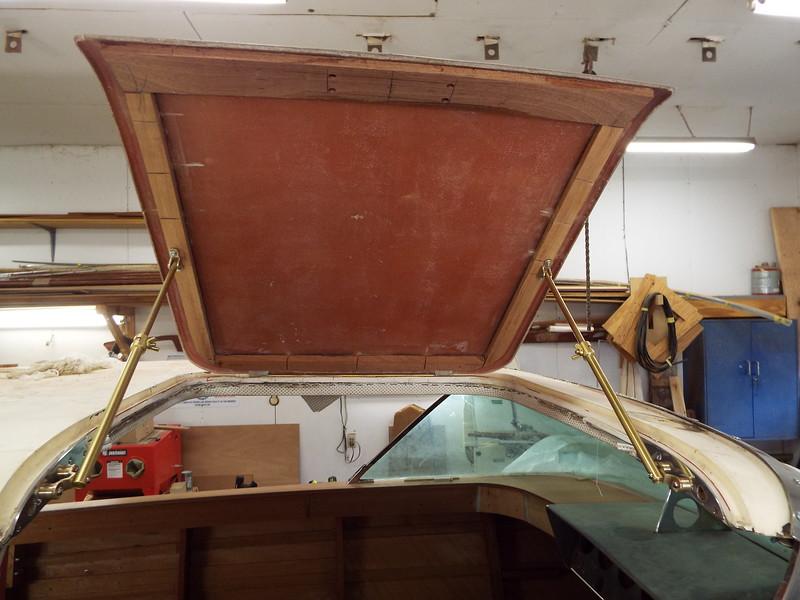 Another view of the starboard door held in the open position.
