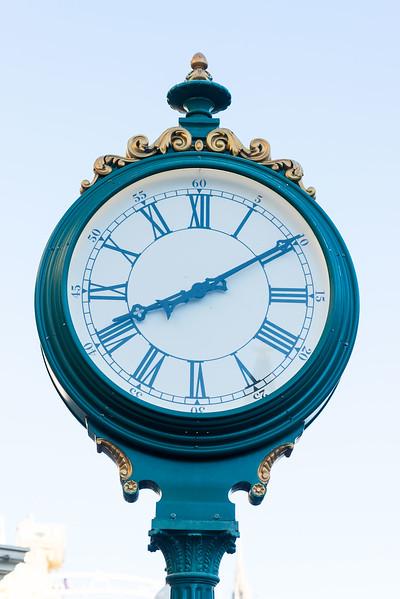 Main Street Clock - Magic Kingdom Walt Disney World
