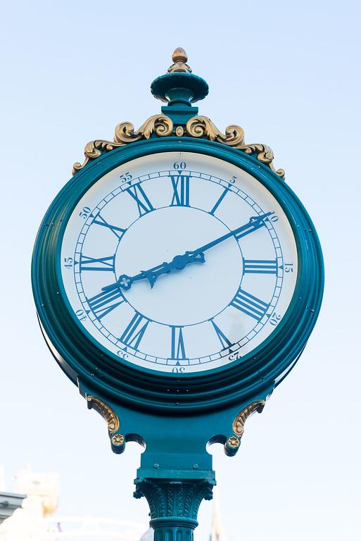 Magic Kingdom Clock