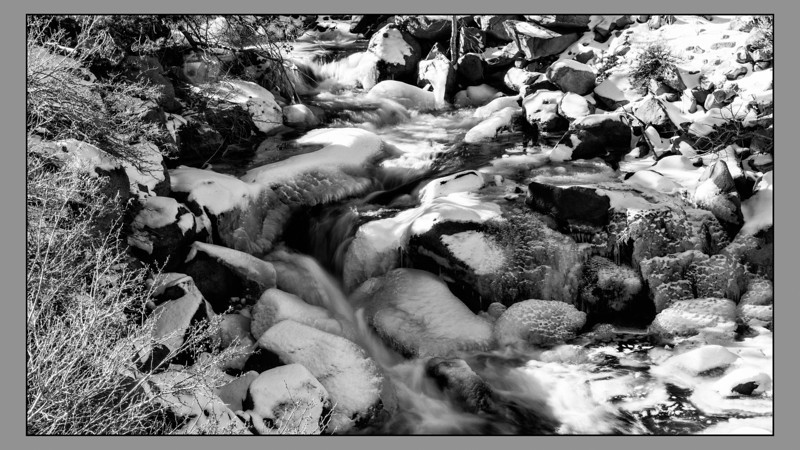 Sierra Winter Creek 2