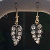 1.85ctw Victorian Leaf Component Earrings 5