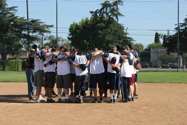 2009 Men's Softball Team