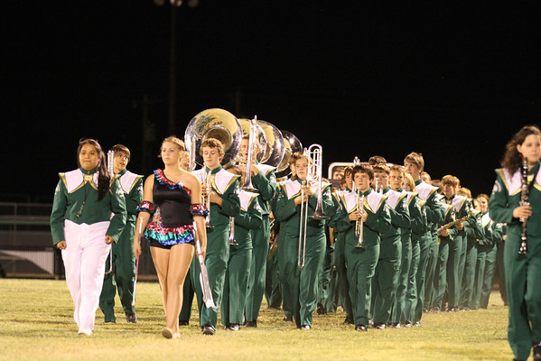 2012 Band at Halftime