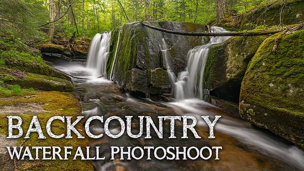 Backcountry Waterfall Photoshoot   Adirondack Mountains