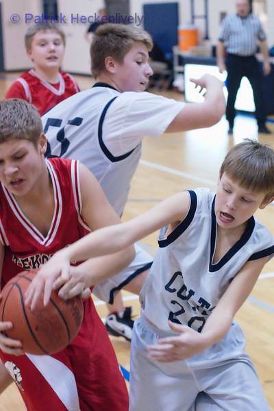 2010-12-08 Boy's Junior High Basketball