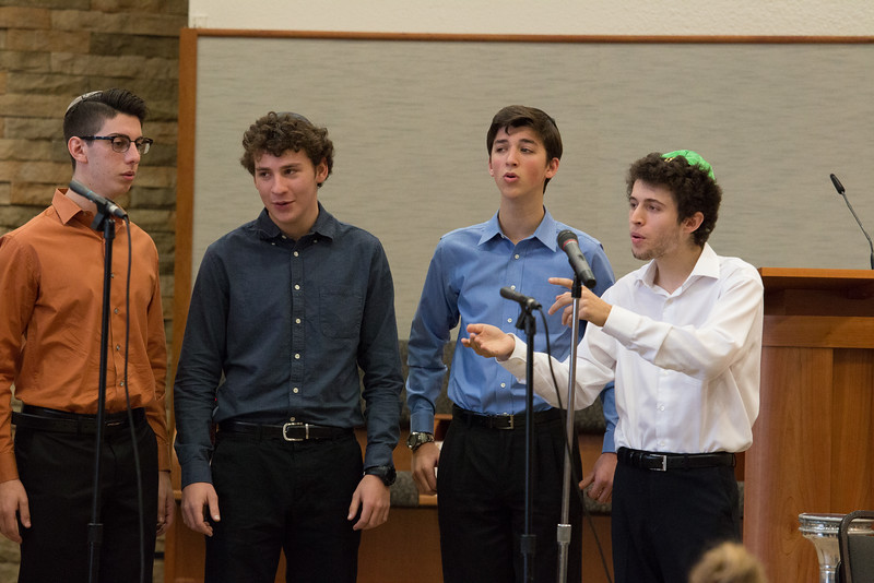 Marak Hayom performing -- Wizards of Ashkenaz youth  concert for Congregation Beth El Religious School, Dec 18, 2016