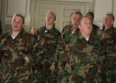 Plebe Training - Cadet De Atienza