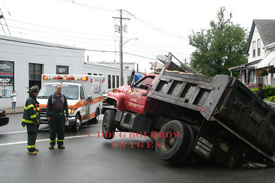 Winthrop, MA - Truck Accident, 546 Shirley Street, 6-8-06