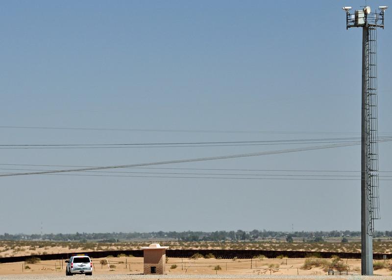 A Border Patrol listening post.