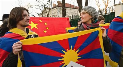Tibetan Uprising Day Prague 2013
