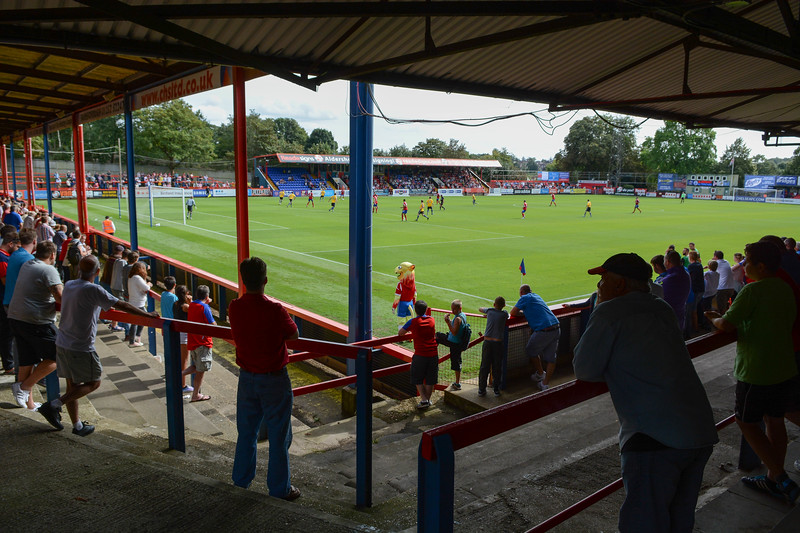 Aldershot Town v Altrincham - Vanarama Conference Premier - The Recreation Ground, Aldershot, Hampshire - 9th August 2014 - NO UNPAID USE