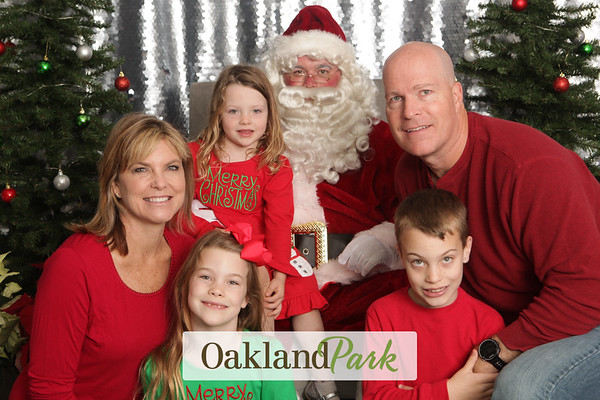 Oakland Park Santa Photos 12-9-2017