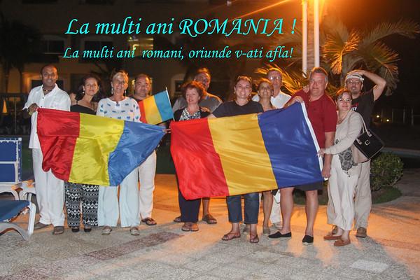 Cancun, Romanian national day celebration - December 1, 2014