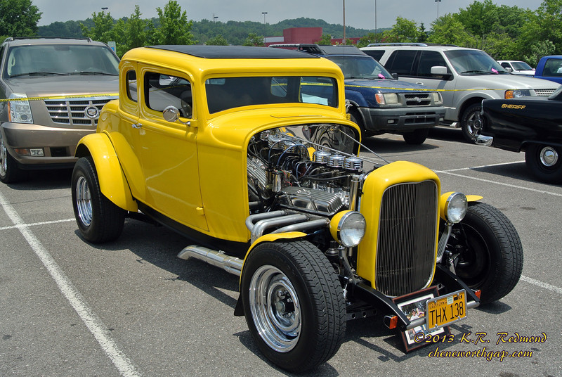1932 Ford Five-Window Coupe?