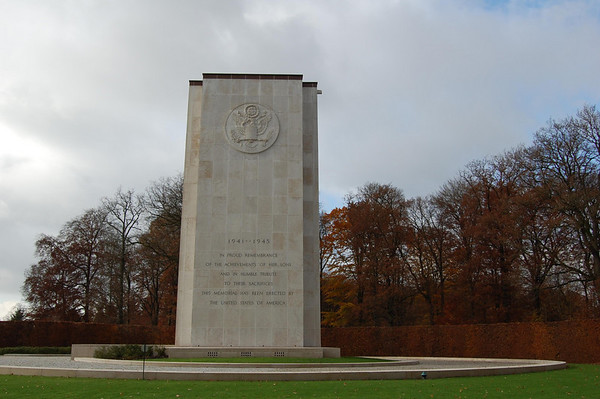 The Luxembourg American Cemetery in Europe  slide show