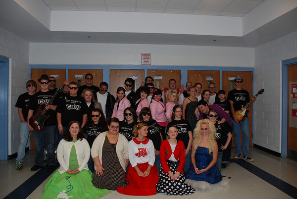 """UCHS """"Grease"""" Cast"""