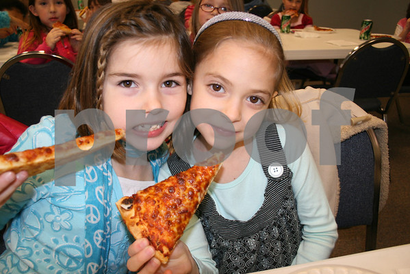 Recycling Drive Pizza Party - February 2009