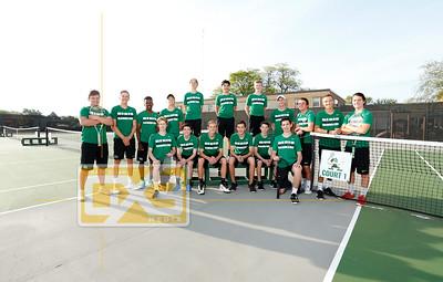Regis boys' tennis BT18