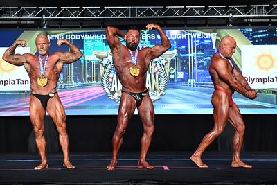 Men's Bodybuilding Masters 60+ LW