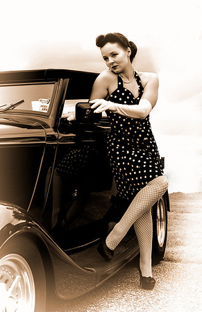 2019 Antique Auto Show with Nina