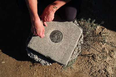 Mt Chapel Survey Marker