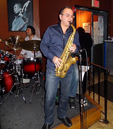 Rocco Ventrella at Slade's Jazz Club - 1/24/2012