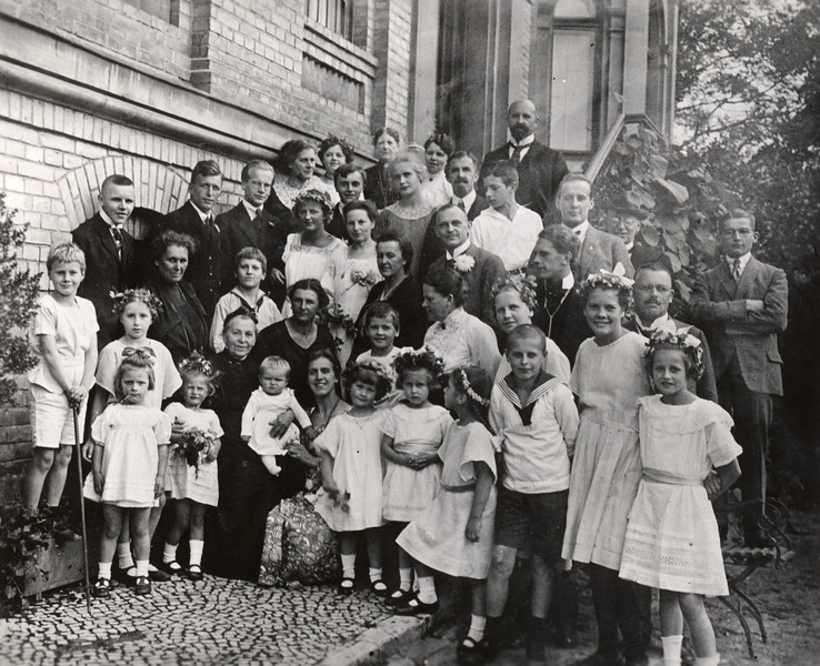 80. Geburtstag von Großmutter Volhard (Josephine Backofen)