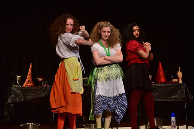 Wellington Girls' College: Macbeth - Act IV sc i