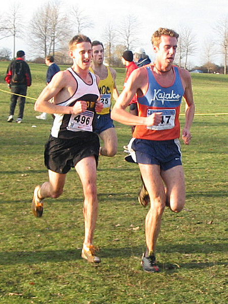 2005 Canadian XC Championships - Ryan Hayden, Taylor Milne and Jeff Scull