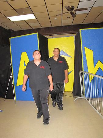 "Handicap Match Dave Oliviera's Security Team (Chris & Shay) & ""Kid Reflex"" Eric Dylan vs. ""Superstar"" Shawn Candido"