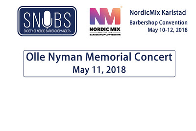 2018-0511 SNOBS -Friday -Olle Nyman Memorial