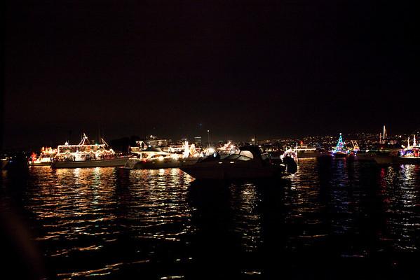 Christmas Boat Parade - Newport Beach