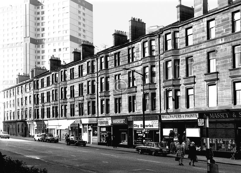 Crown St, west side, south of Cleland St.    September 1973