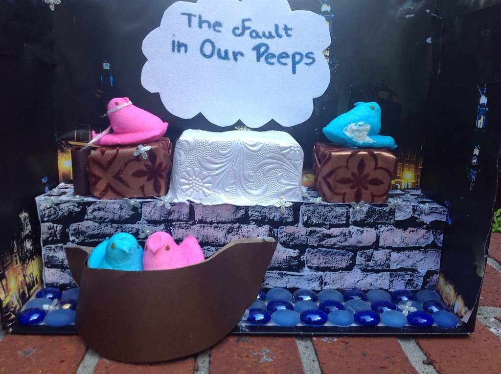 """. \""""The Fault in Our Peeps,\"""" Mary Dickey"""