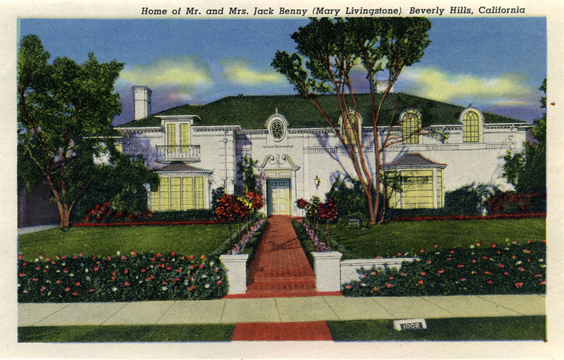 Home of Mr. and Mrs. Jack Benny