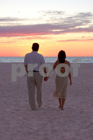 Adrianna + Blaze Pre-Wedding Beach Photos
