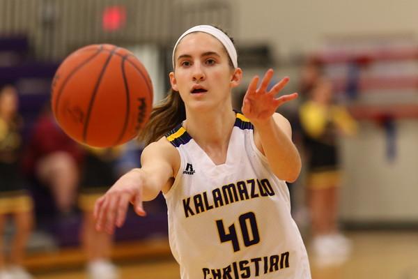 Basketball Girls Varsity vs Galesburg - KCHS - 2/21/18