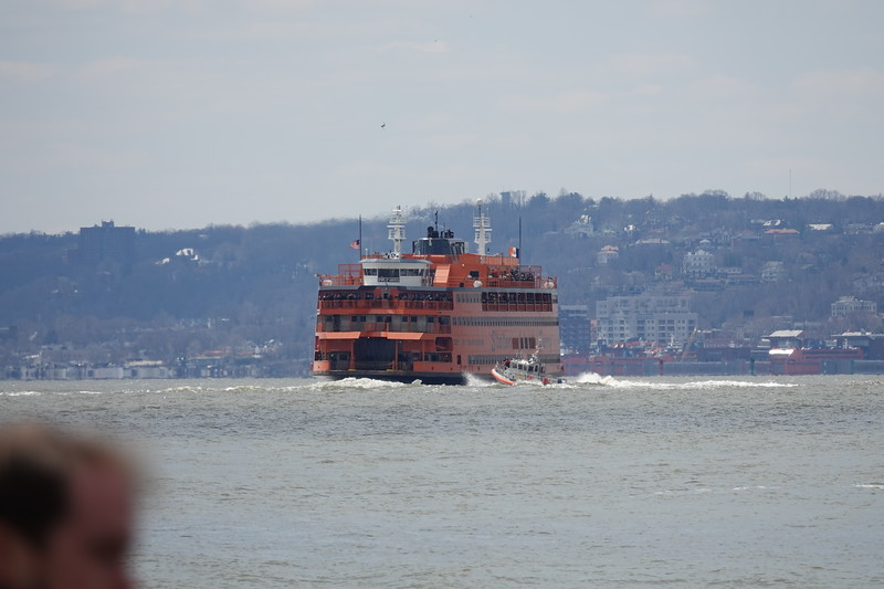 Staten Island Ferry from Battery Park.