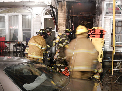 MAHANOY CITY FATAL HOUSE FIRE 4-6-2013 PICTURES AND VIDEO BY FRANK ANDRUSCAVAGE