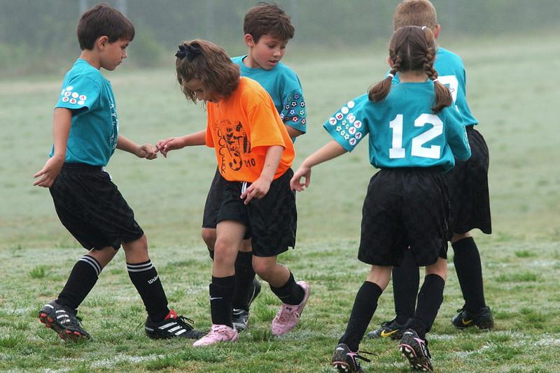 May 1, 2010 - The Wild Ones vs. Orange Crush U8 Soccer