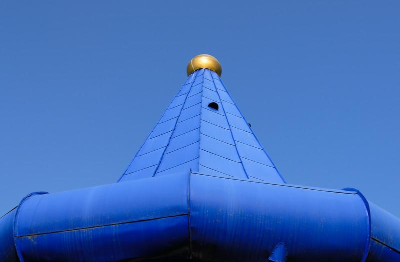 Blue Turret, Rogner Spa in Bad Blumau, Austria