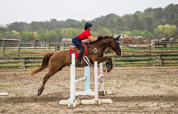 Aryonia and Ryker jump clinic April