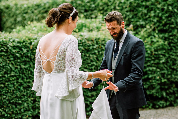 Planning to have a wedding first look?