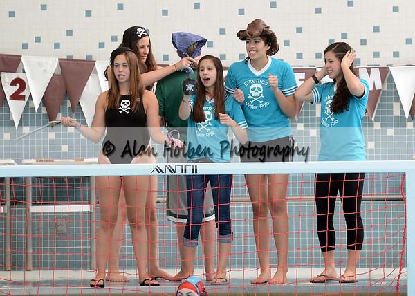 Girls Varsity Water Polo - Saline at Okemos - April 13